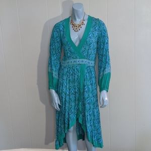 Spell & The Gypsy Collective Dresses - Spell Jewel Soirée Dress in Emerald